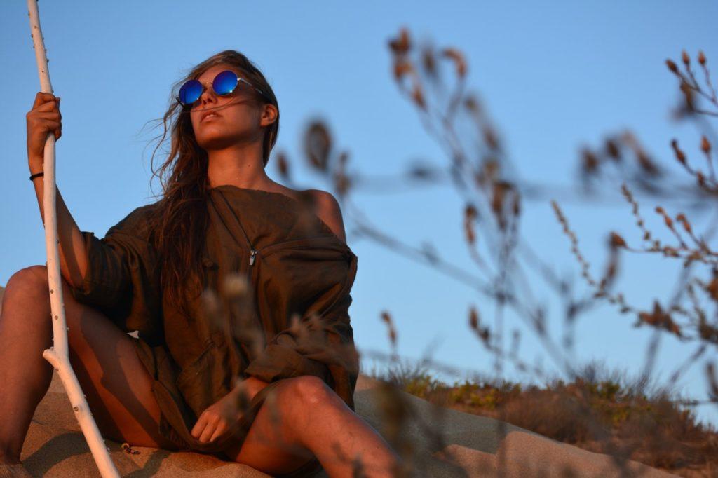 tükrös napszemüveg női-férfi
